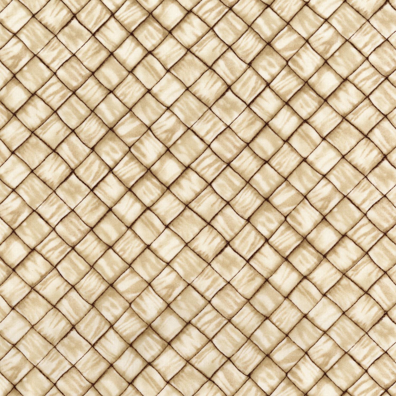 Ambrosia Farm Basket Weave Fabric  RJR Studios by the Half Yard