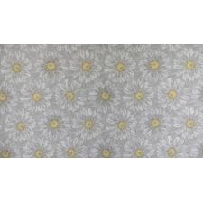 FF500-PE6M Shiny Objects - Good as Gold - Embossed Blooms - Pearl Metallic Fabric 2