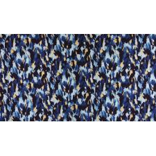 FF503-SA3M Shiny Objects - Good as Gold - Fresh Paint - Sapphire Metallic Fabric 2