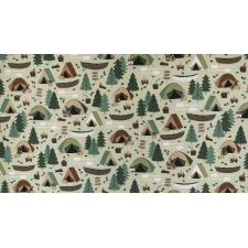RJ1600-MO2 Camping Crew - Campground - Moss Fabric 2