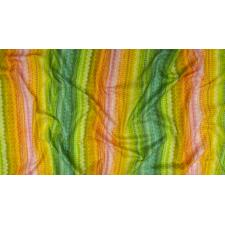 RJ1105-GO1D Flourish - Frill - Golden Digiprint Fabric 3