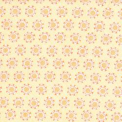 2644-002 Chirp - Dot - Goldenrod Fabric