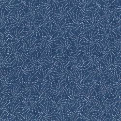 2646-004 Chirp - Migration - Bijou Blue Fabric