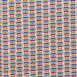 3038-001 Mirage - Loop Stripe - Whisper White Fabric