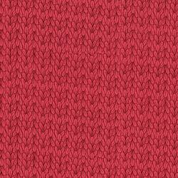 3041-001 Mirage - Leaves - Raspberry Wine Fabric