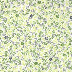 2877-003 One Room Schoolhouse - Wild Flower - Grass Fabric