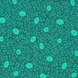 2878-001 One Room Schoolhouse - Recess - Teal Fabric