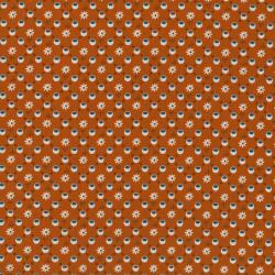 2436-001 Pie Making Day - Picnic - Orange Fabric