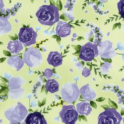 3293-002 June's Cottage - Prized Roses - Meadow Fabric