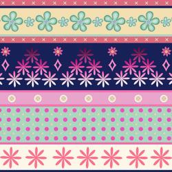 2355-001 Home Seweet Home - Border - Multi Fabric