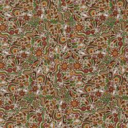 1913-002 Wild Cats - Penn Dutch - Cream Fabric