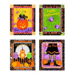 1949-001 Hocus Pocus - Panel - Multi Fabric