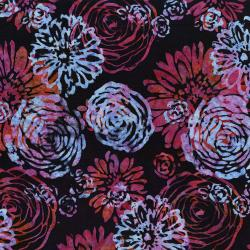 3503-003 Blossom Batiks - Splash - Bouquet - Gladiolus Fabric