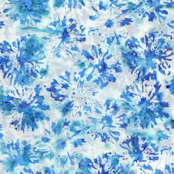 3506-002 Blossom Batiks - Splash - Daisies - Breeze Fabric