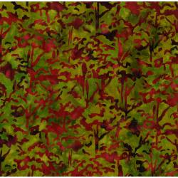 3098-002 Blossom Batiks - Valley - Tree Top - Japanese Maple Batik Fabric