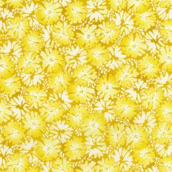 2946-002 Daisy Blue - Graceful Garden - Daffodil Fabric
