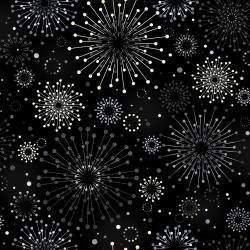 3479-002 Shiny Objects - Precious Metals - Sparklers - Radiant Platinum Metallic Fabric