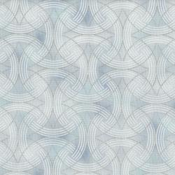 3255-001 Serene Spring - Turn Of The Season - Frost Metallic Fabric