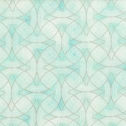 3255-002 Serene Spring - Turn Of The Season - Ice Metallic Fabric