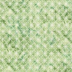 3256-004 Serene Spring - Morning Sparkle - Sprout Metallic Fabric