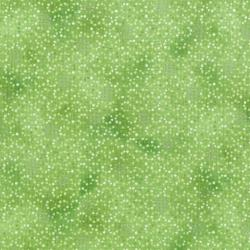 3257-004 Serene Spring - Droplets - Seedling Metallic Fabric