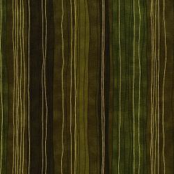 3023-002 Shiny Objects - Sterling Stripe - Pepper Grass Metallic Fabric
