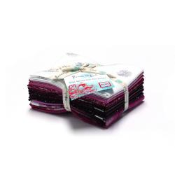 9653-414 Shiny Objects - Dahlia - Pink Fat Quarters