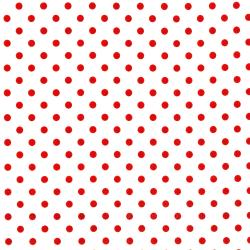 3164-001 Shiny Objects - Holiday Twinkle - Spot On - Radiant Cherry Metallic Fabric