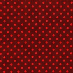 3164-002 Shiny Objects - Holiday Twinkle - Spot On - Radiant Crimson Metallic Fabric