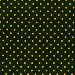 3164-006 Shiny Objects - Holiday Twinkle - Spot On - Tannenbaum Metallic Fabric