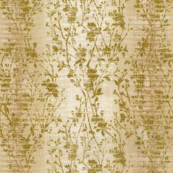 3022-009 Shiny Objects - Precious Metals - Velvety Vines - Pearl Metallic Fabric