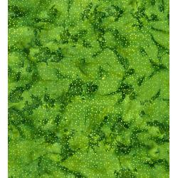 FF304-GR2 Blossom Batiks - Cascade - Droplets - Grass Fabric