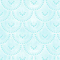 3607-001 Enchanted Lake - Tutu Twirl - Aqua Fabric