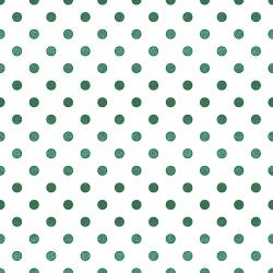 FF102-EM17M Shiny Objects - Spot On - Emerald Metallic Fabric