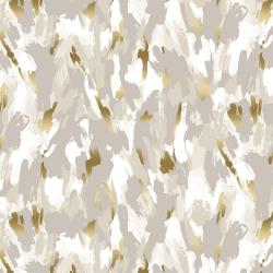 FF503-PE6M Shiny Objects - Good as Gold - Fresh Paint - Pebble Metallic Fabric