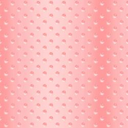 FF506-PI1 Shiny Objects - Good as Gold - Hobnail Glass - Pink Champagne Fabric