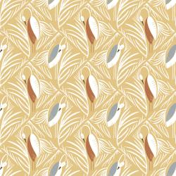 ID103-WS1 Pond Life - In the Nest - Warm Sun Fabric
