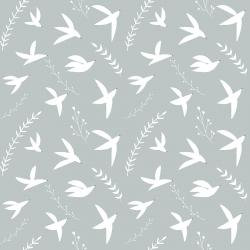 ID104-SK3 Pond Life - Birds in Flight - Sky Fabric