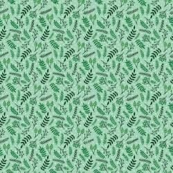 JM110-SP3 Branching Out - Spearmint Fabric