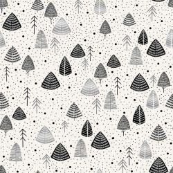JM111-SP5M Everwoods - Salt & Pepper Metallic Fabric