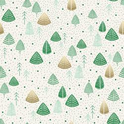 JM111-TH2M Everwoods - Thyme Metallic Fabric