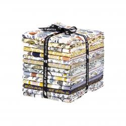 JM200P-FQB Summer in the Cotswolds Metallic Fat Quarter - Bundle