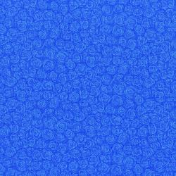 3216-001 Hopscotch - Rose Petals - Cornflower Fabric