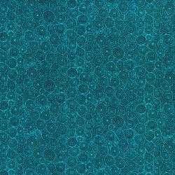 3217-002 Hopscotch - Intertwining Puddles - Ocean Fabric