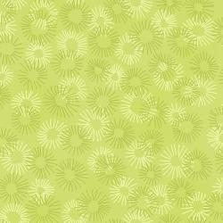 3219-010 Hopscotch - Deconstructed Dandelions - Sage Fabric