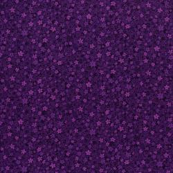 3220-005 Hopscotch - First Flowers - Grape Fabric