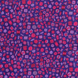 3425-003 Sewing 101 - Button Up - Purple Fabric