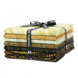 JB200P-FQB-K Andalucia - Khaki Fat Quarter - Bundle