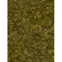 JB202-OL5 Andalucia - Daisies - Olive Fabric
