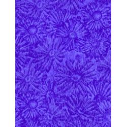 JB202-PE2 Andalucia - Daisies - Periwinkle Fabric